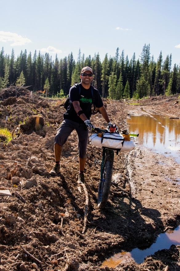 Getting muddy...